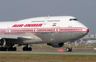 Air India plane makes emergency landing in Baku