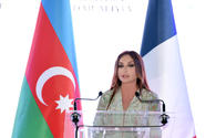 Azerbaijan's first lady offers condolences to French president and people