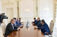 "President Aliyev receives Turkish Foreign Minister <span class=""color_red"">UPDATE</span>"