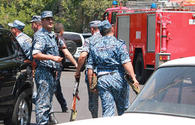 Attackers seizing Yerevan's police building refuse to surrender