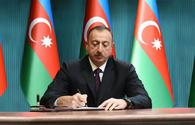 President Aliyev signs order to award national athletes who will win medals at Rio 2016