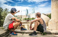 """Red Bull Skydive Team explores beauty of Baku <span class=""""color_red"""">VIDEO</span>"""
