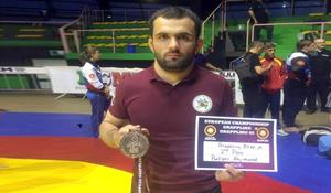 "National grappling wrestler wins European silver <span class=""color_red"">PHOTO</span>"