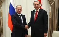 Erdogan, Putin express need for coordination of actions on Syria