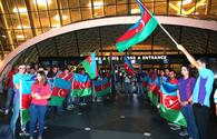 "Azerbaijani athletes leave for Rio de Janeiro [PHOTO] <span class=""color_red"">[UPDATE]</span>"