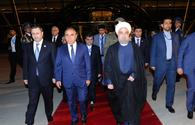 Iranian President ends official visit to Azerbaijan