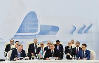 President Aliyev: North-South corridor – strategically important transnational project