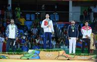 "Azerbaijan's Gasimov claims Olympic judo silver <span class=""color_red"">[PHOTO]</span>"