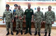 Defense Ministry: Azerbaijani tank crew successfully performed in international military competitions