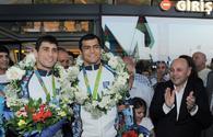 National judokas given heroes' welcome in Baku