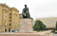 """Tombstone of Nakhchivanski`s son discovered in St. Petersburg <span class=""""color_red"""">[PHOTO]</span>"""
