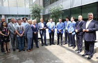 "Sports officials' meet with national chess team prior to Baku Olympiad <span class=""color_red"">[PHOTO]</span>"