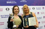 "Mariya Muzychuk: Our goal is to be among prize winners <span class=""color_red"">PHOTO</span>"