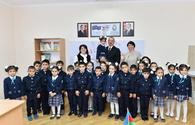 "President Aliyev attends opening of new school building in Sabunchu <span class=""color_red"">[PHOTO]</span>"