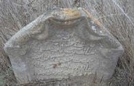 """Ancient tombstones discovered in Neftchala <span class=""""color_red"""">[PHOTO]</span>"""