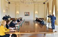 President Ilham Aliyev received delegation of EU-Azerbaijan Parliamentary Cooperation Committee