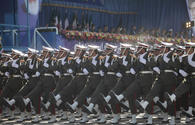 Military parade held in Iran