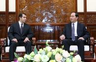"""Vietnamese President hails cooperation with Azerbaijan <span class=""""color_red"""">[PHOTO]</span>"""