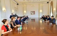 """Ilham Aliyev received PACE Referendum Assessment Mission <span class=""""color_red"""">[ PHOTO ]</span>"""