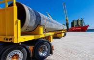 Approximately 44pct of pipes needed to build Albanian section of TAP delivered