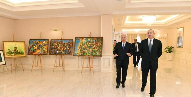 """President Ilham Aliyev viewed newly renovated facilities in Sumgayit <span class=""""color_red"""">[UPDATE / PHOTO]</span>"""