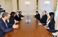 "President Aliyev receives Bulgarian delegation <span class=""color_red"">[UPDATE] [PHOTO]</span>"
