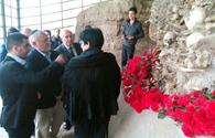 Associate Dean of Simon Wiesenthal Center visits Genocide Memorial Complex