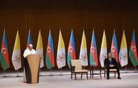 Pope Francis hopes int'l community to help with Karabakh issue