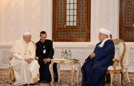 Pope hopes int'l community to facilitate Nagorno-Karabakh conflict settlement