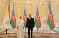 "Ilham Aliyev: Pope's visit crucial for dialogue among civilizations <span class=""color_red"">[UPDATE]</span>"