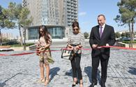 "President Aliyev, First Lady inaugurate new park complex in Khatai <span class=""color_red"">[PHOTO]</span>"