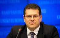 Sefcovic hopes TAP to continue to progress with support of three countries involved