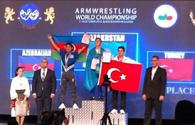 "Azerbaijani arm wrestlers win 10 world medals <span class=""color_red"">[PHOTO]</span>"