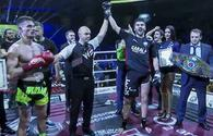 Azerbaijani MMA fighter crowned European champion