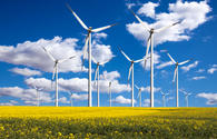 Wind power production in Azerbaijan increases eight-fold