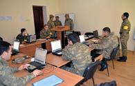 Azerbaijani Armed Forces conduct self-evaluation exercise