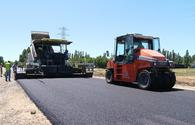 Over 540 km of roads built, repaired in Azerbaijan