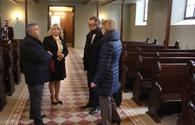 "German envoy visits Lutheran Church in Shamkir <span class=""color_red"">[PHOTO]</span>"