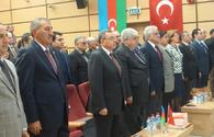 State independence of Azerbaijan marked in Ankara