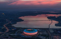 Baku Olympic Stadium shortlisted for Arcaid's Architecture Photograph of Year