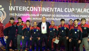 """National wrestlers shine at """"Alrosa"""" Intercontinental Cup <span class=""""color_red"""">[PHOTO]</span>"""