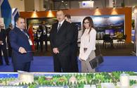 "Presidential couple attends 2nd Azerbaijan Int'l Real Estate and Investment Exhibition <span class=""color_red"">[UPDATE/ PHOTO]</span>"