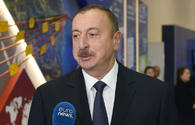 "President Aliyev responds to questions from Euronew, Russia-24 channels <span class=""color_red"">[PHOTO]</span>"