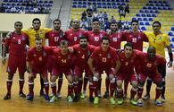 Azerbaijan remain 10th in futsal world ranking
