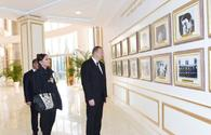 "President Ilham Aliyev inaugurats Heydar Aliyev Center in Aghdam <span class=""color_red"">[PHOTO]</span>"