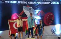 National weightlifter claims European bronze