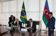 Azerbaijan, Brazil sign MoU on trade, investment cooperation