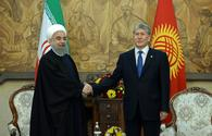 Rouhani arrives in Kyrgyzstan as part of his three-leg tour