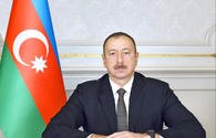 Azerbaijani president approves funding for road construction in Shaki