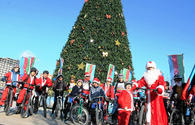 "Charity bike ride in heart of Baku <span class=""color_red"">[PHOTO]</span>"